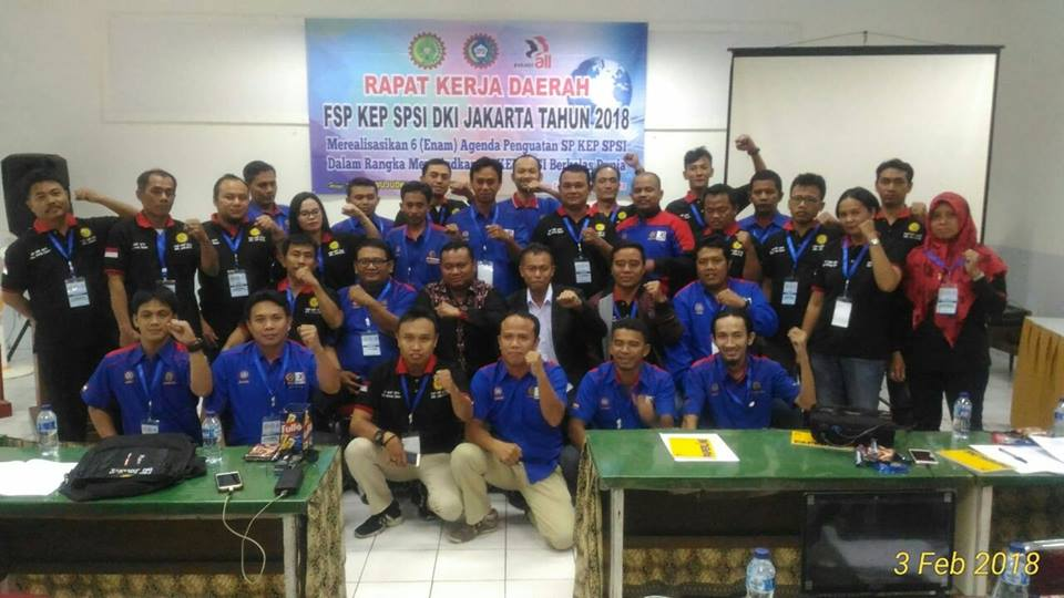 Photo of RAPAT KERJA DAERAH (REKERDA) FSP KEP SPSI DKI JAKARTA