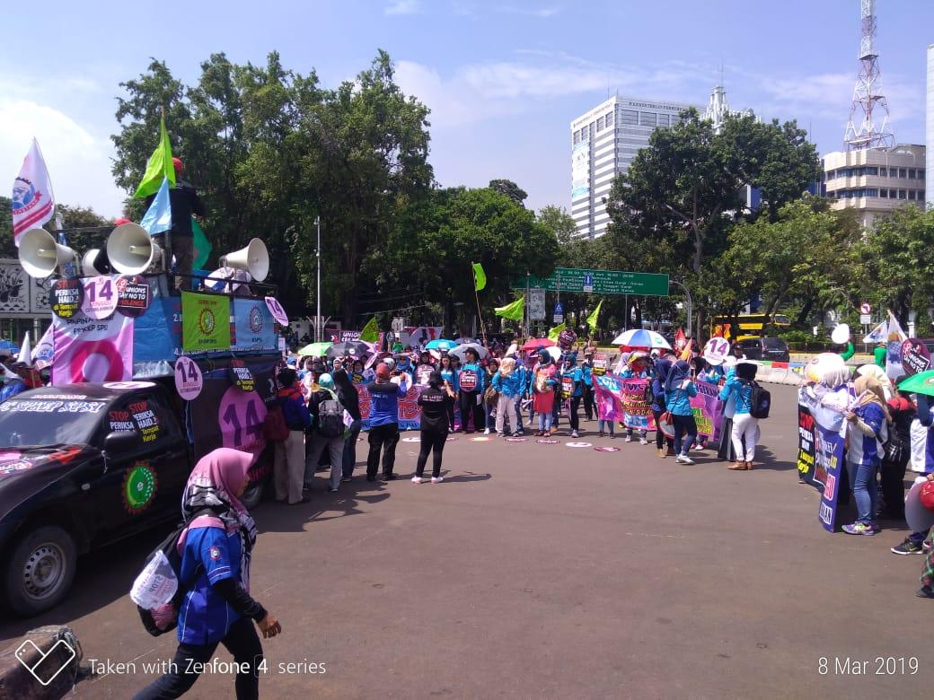 Photo of Peringati Hari Perempuan Se-Dunia 2019, FSP KEP SPSI Konsisten Perjuangkan Kampanye 14 Minggu Cuti Melahirkan dan Cuti Hamil