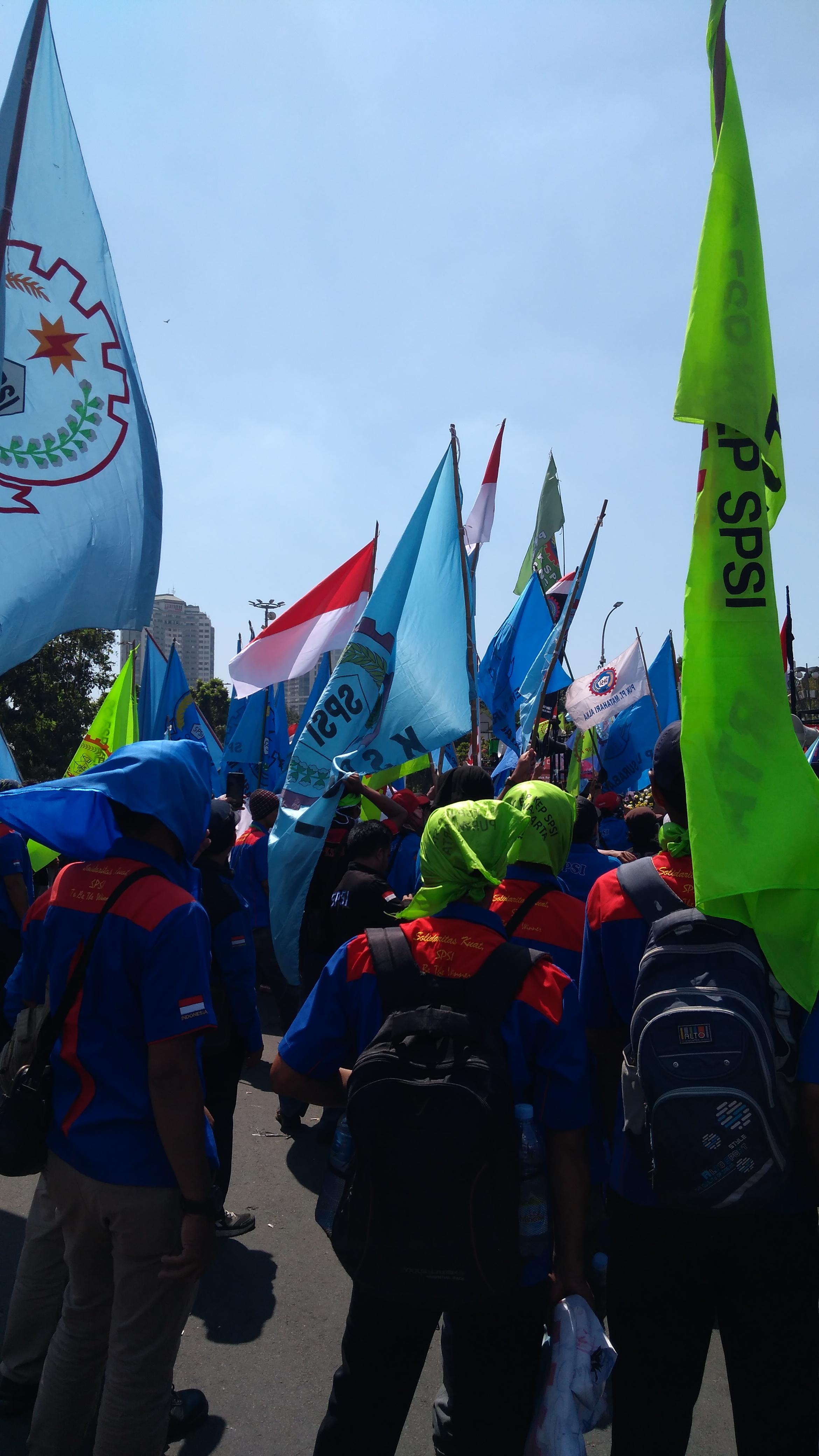 Photo of Gekanas: Tolak Revisi UU 13 Tahun 2003