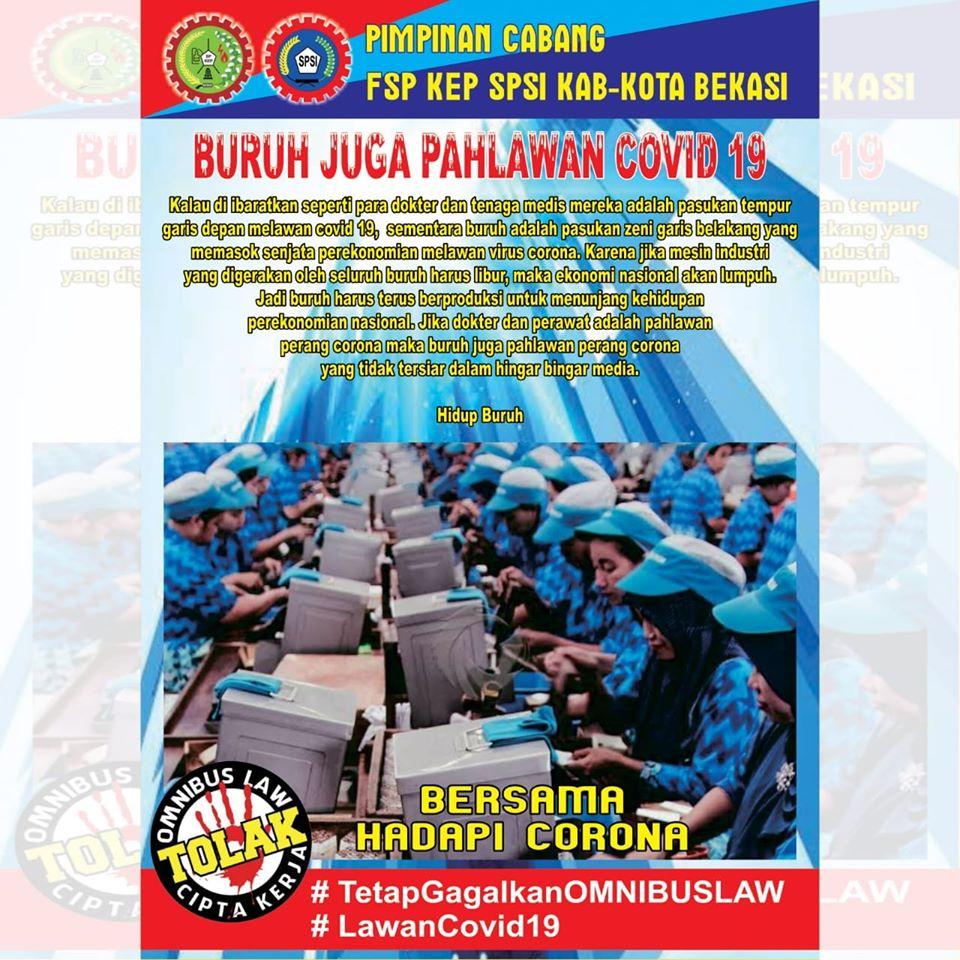Photo of Pekerja dan Pencegahan Penyebaran Covid-19