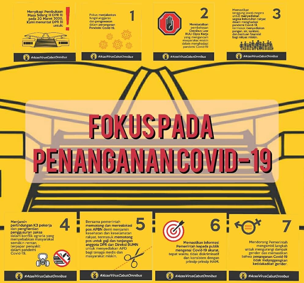 Photo of FSP KEP SPSI BEKASI : Hentikan Pembahasan Omnibuslaw Cipta Kerja dan Fokus Pada Penanganan Covid-19