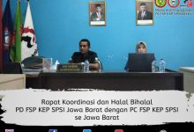 Photo of PD FSP KEP SPSI Jawa Barat Gelar Halal Bihalal dak koordinasi Bersama PC FSP KEP SPSI Se- Jawa Barat