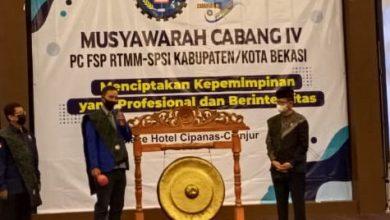 Photo of MUSCAB IV PC FSP RTMM SPSI KAB./KOTA BEKASI